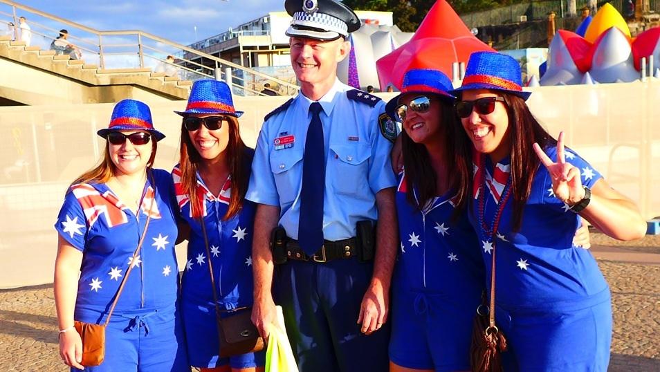 Australiens Nationaltag wird fröhlich gefeiert