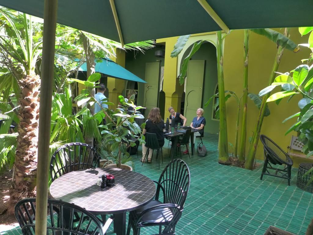 Das Restaurant Le Jardin ist eine Oase der Ruhe mitten in der quirligen Medina