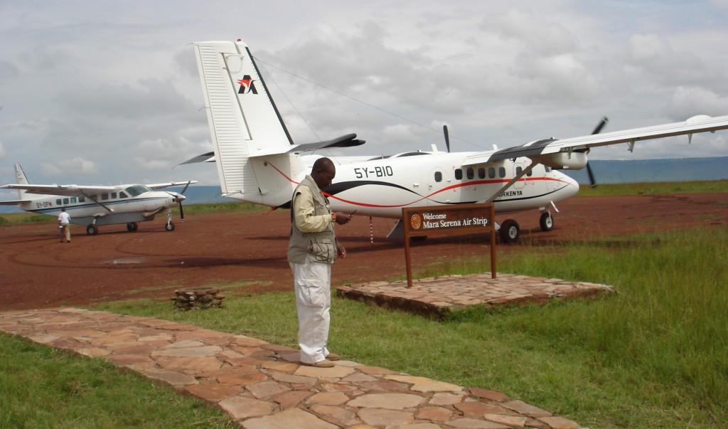 Safari Kenia Rundflug