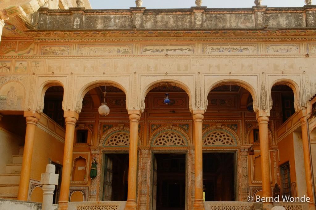 Fotoreise Indien - Eingang eines Haveli