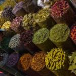 Dubai - riechen auf dem Gewürzmarkt