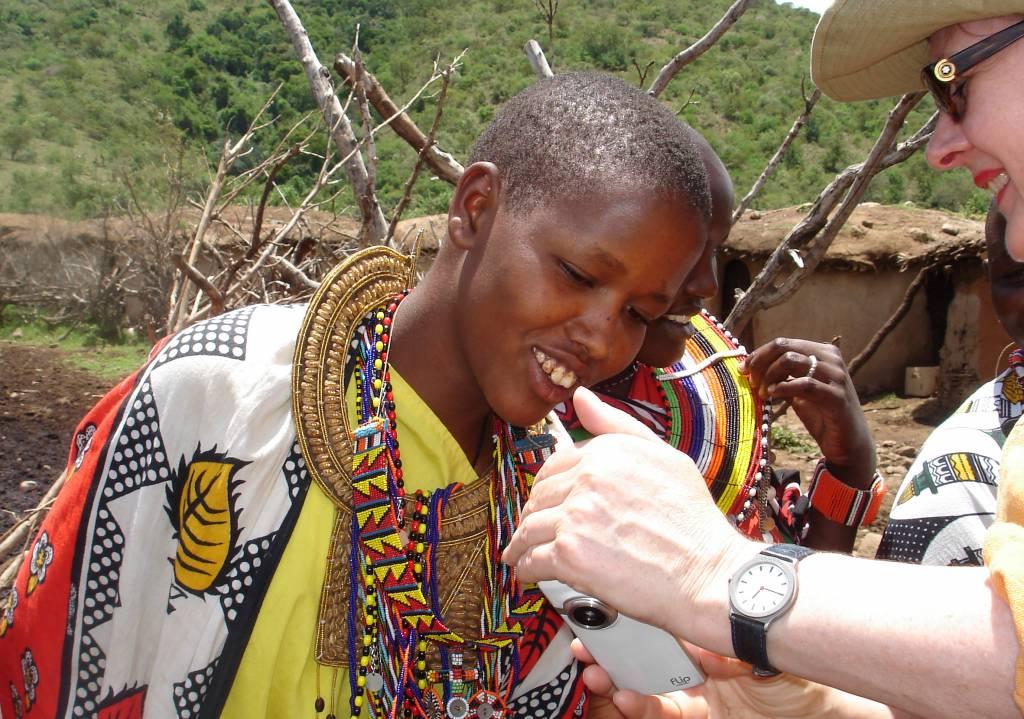 Fotoreise Kenia Besuch in einem Massai Dorf