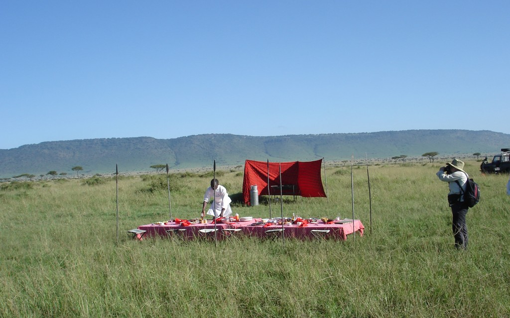 Safari Kenia Picknick