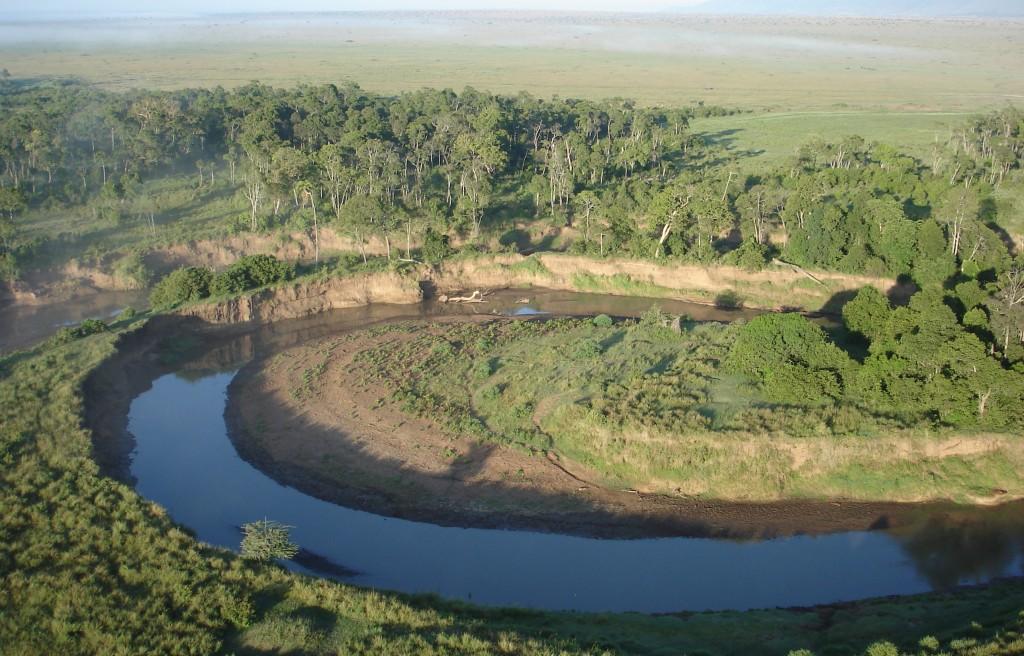 Safari Kenia Mara Fluss