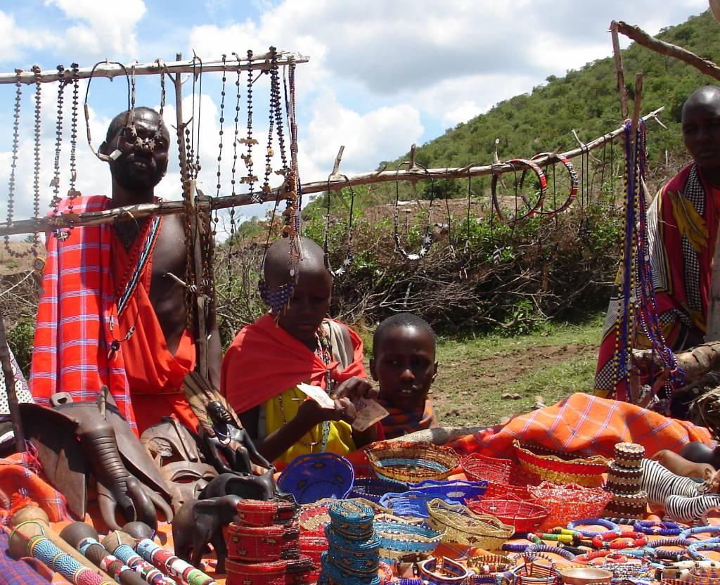 Fotosafari Kenia Massais