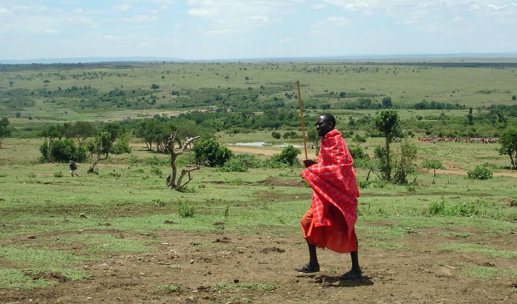 Safari zu Fuß – ein Massai zeigt mir sein Kenia