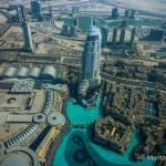 Die höchste Plattform der Welt Aussichtsplattform vom Burg Khalifa