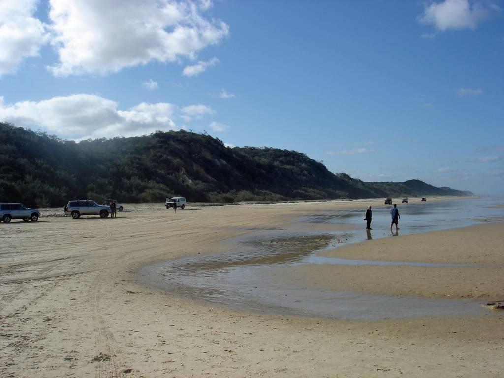 Fraser Island wurde 1992 zum Weltnaturerbe erklärt @Foto: M.Persian