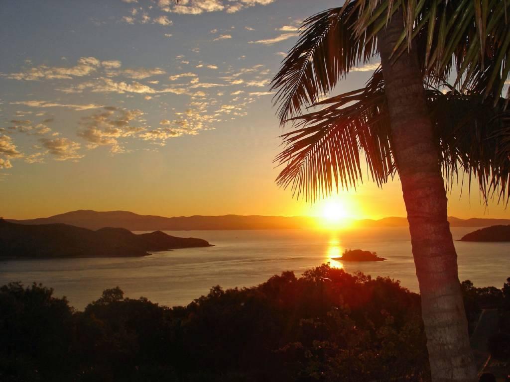 Sonnenuntergang in Queensland, Australien Foto@Marita Persian