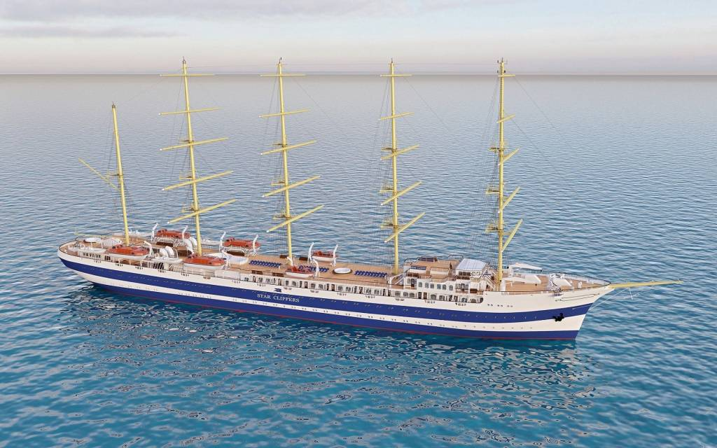 Star Clippers bekommt Zuwachs. In Split wird das größte Segelschiff der Welt gebaut