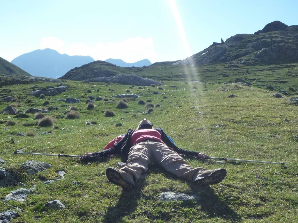 Müde darf man sein nach einem tollen Wandertag im schönen Windischgarsten
