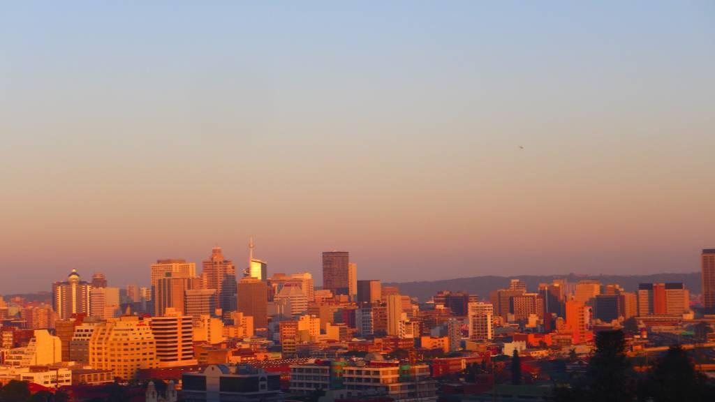 Unvergeßlich! Sonnenuntergangsstimmung in Durban