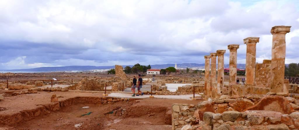 Unbedingt besuchen! Die Ausgrabungen im Archäolischen Park von Paphos sind beeindruckend Foto: © Persian,