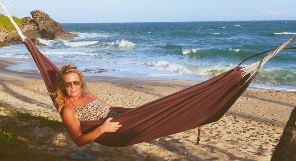 Abhängen am Strand, Sri Lanka