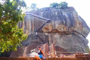 1202 Stufen führen hinauf auf den Felsen