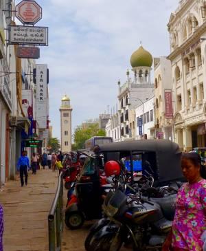 Colombo Fort mit dem Clocktower im Hintergrund