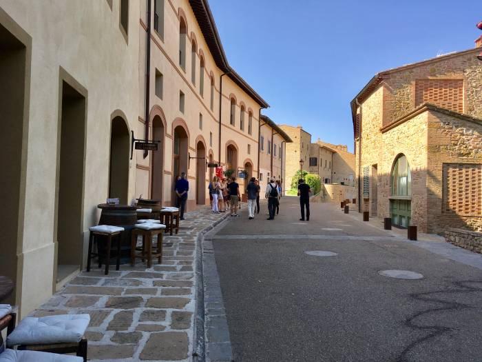 Das mittelalterliche Dorf wurde perfekt restauriert