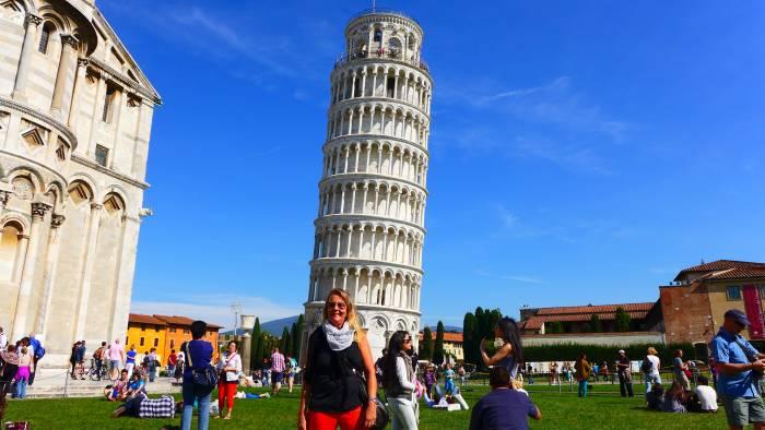 Besuchermagnet: Der schiefe Turm von Pisa