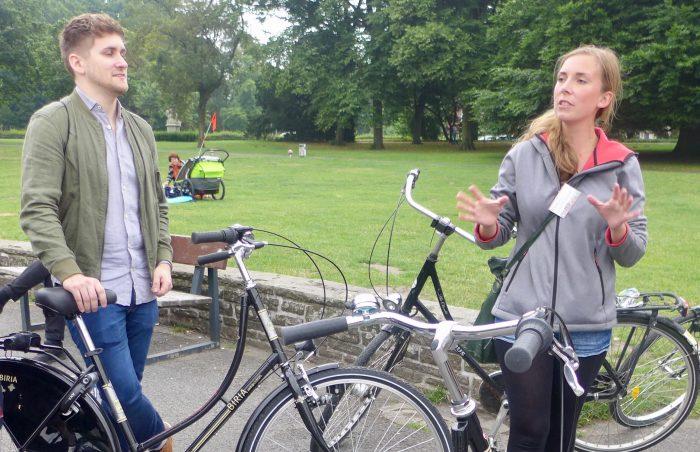 Münster, die Fahrradstadt. Sightseeing auf zwei Rädern muss sein