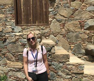 Tatjana, die Reiseleiterin Foto: m.persian